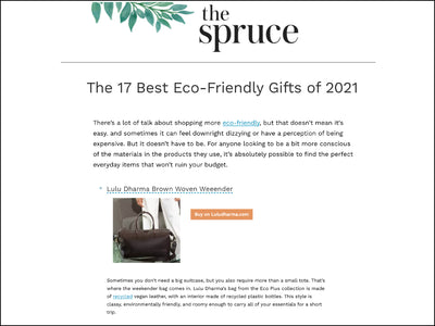 Featured in The Spruce - Woven Weekender