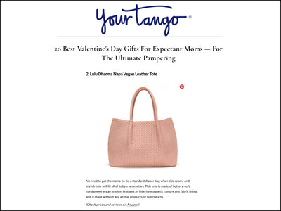 Featured in Your Tango - Napa Vegan Leather Tote