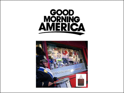 Featured in Good Morning America NYC Window Display