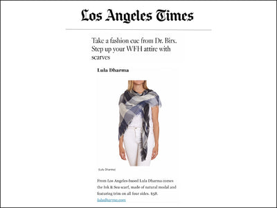 Featured in the LA TIMES - Modal Scarf