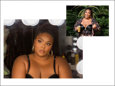 Lizzo Wears 6 Tier Hoops for the 2020 BET awards