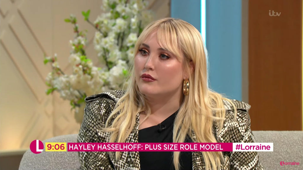 Hayley Hasselhoff wearing Hoop Earrings