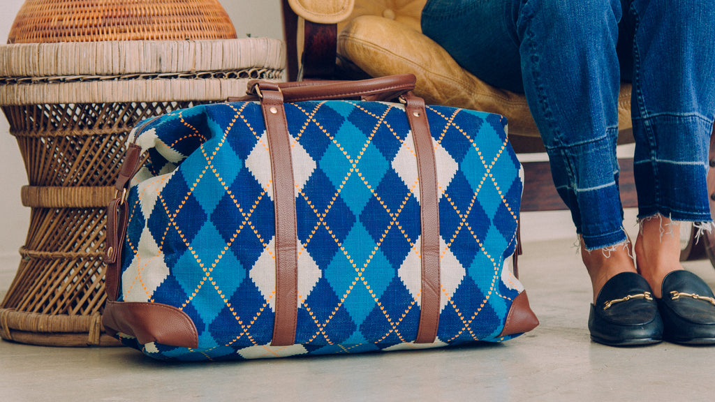 Our Commitment - Argyle Overnight Bag