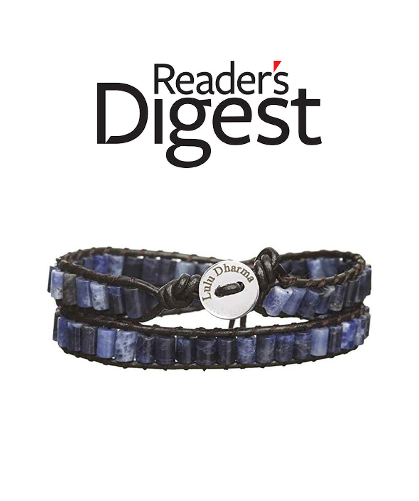 Reader's Digest Lulu Dharma Wrap Bracelet Feature