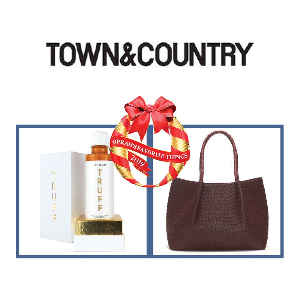 Town and Country Oprah's Favorite Things, Lulu Dharma Napa Tote Feature