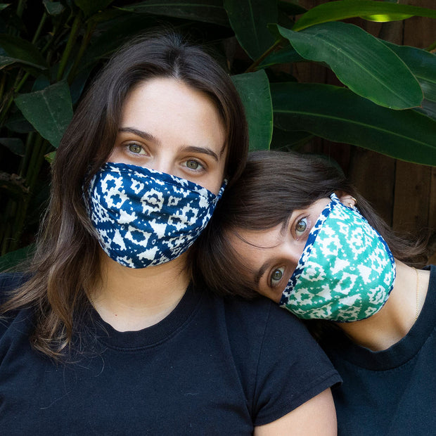 Geometric Reversible Face Mask