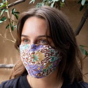 Leaves & Vines Reversible Face Mask