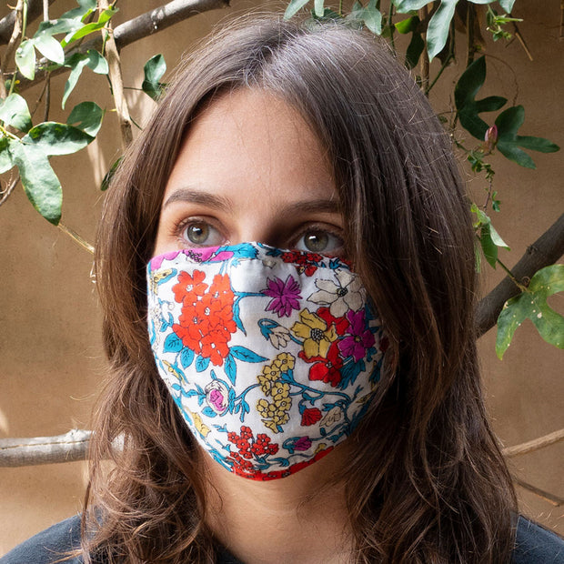 Floral Reversible Face Mask