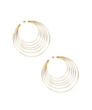 Large 6 Tiered Wire Hoops