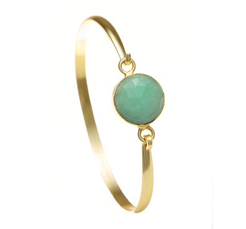 Amazonite Ileina Bangle