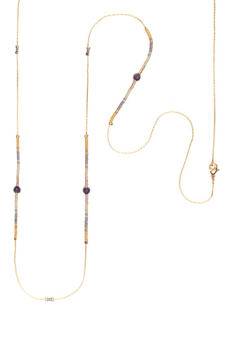 Amethyst Andalusia Necklace