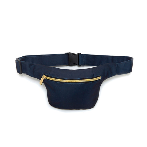 Dark Blue Hip Pack with RFID Protection