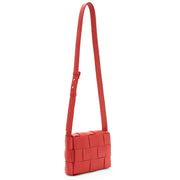 Red Woven Crossbody/Clutch