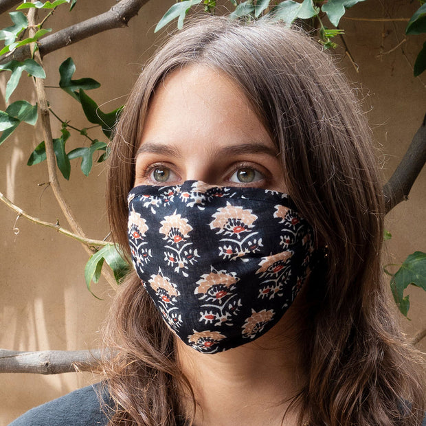 Lotus Reversible Face Mask