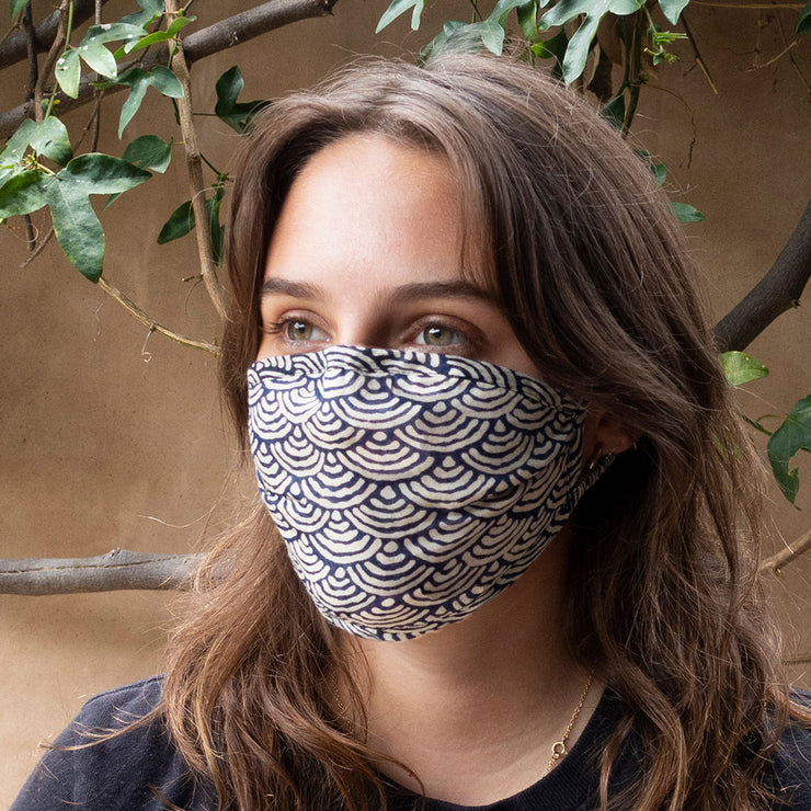 Waves Reversible Face Mask
