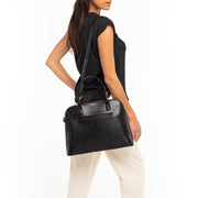 Black Lizard Handbag