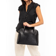 Black Lizard Laptop Handbag