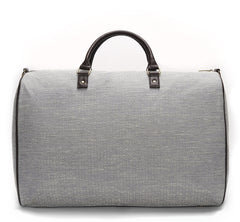 Light Blue and White Jacquard Weekender