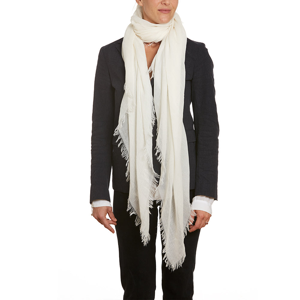 Ivory Summer Scarf / Wrap