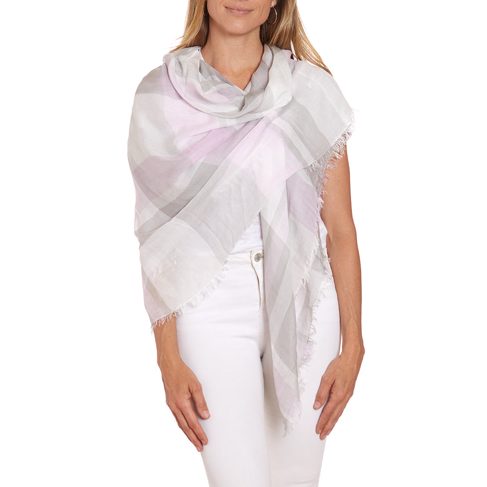 Cloud & Violet Summer Scarf / Wrap