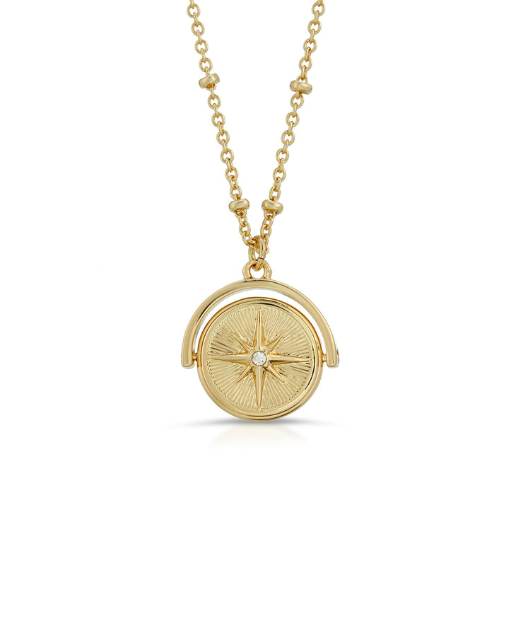 North Star Spinner Necklace