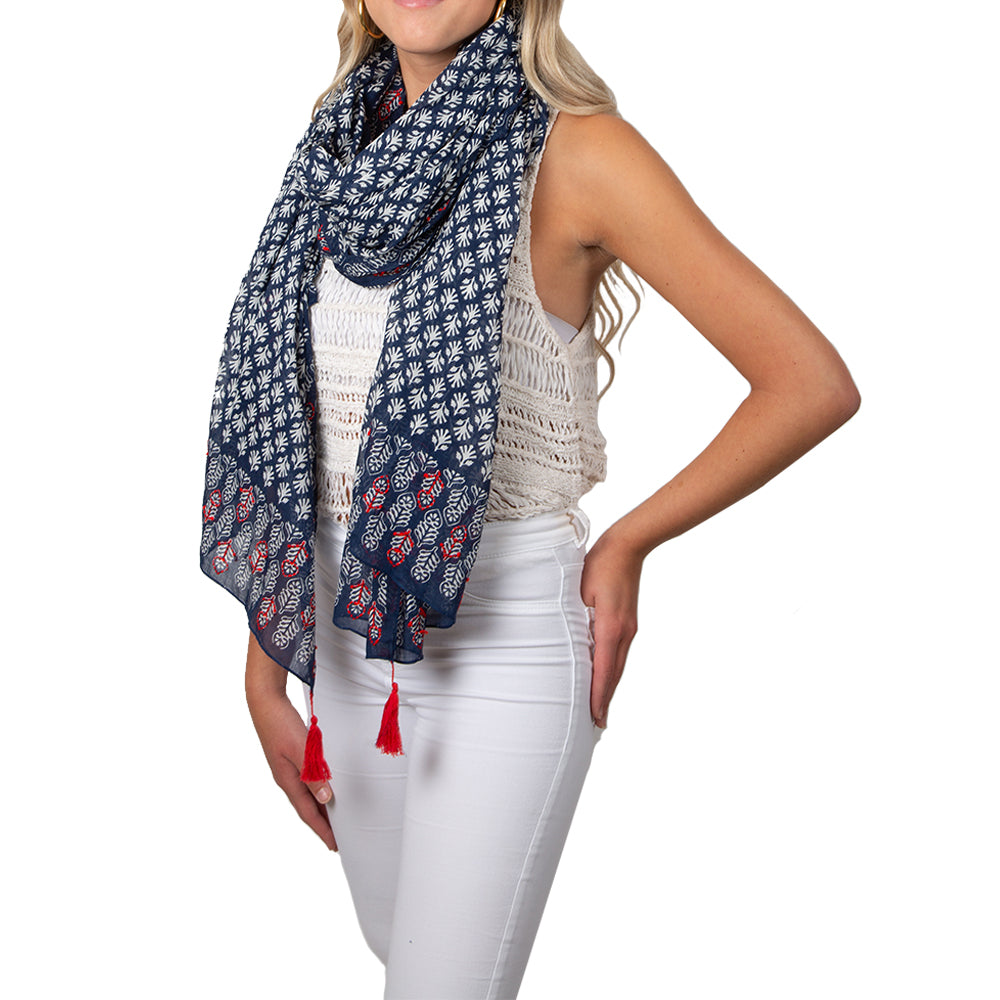 Carmel by the Sea Summer Scarf / Wrap