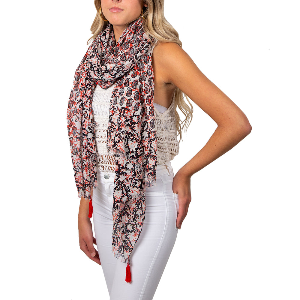 Pebble Beach Summer Scarf / Wrap