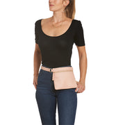 Blush Square Belt Bag