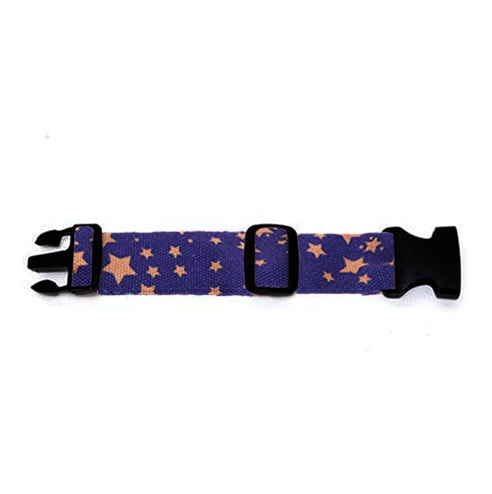 Rose Gold Stars on Ultra Violet Hip Pack Extender Strap
