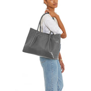 Grey Lizard Cinch Tote