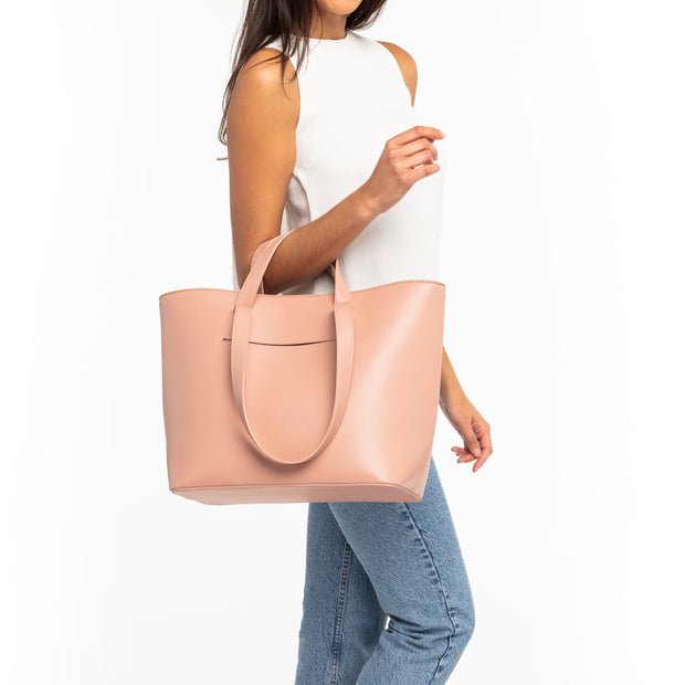 Dusty Rose Double Handle Tote