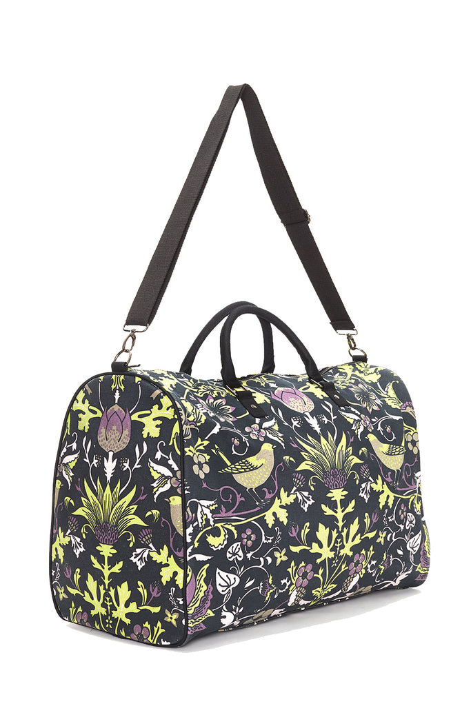 Pre-Order Black with Lime Thorn & Thistle Carpet Bag
