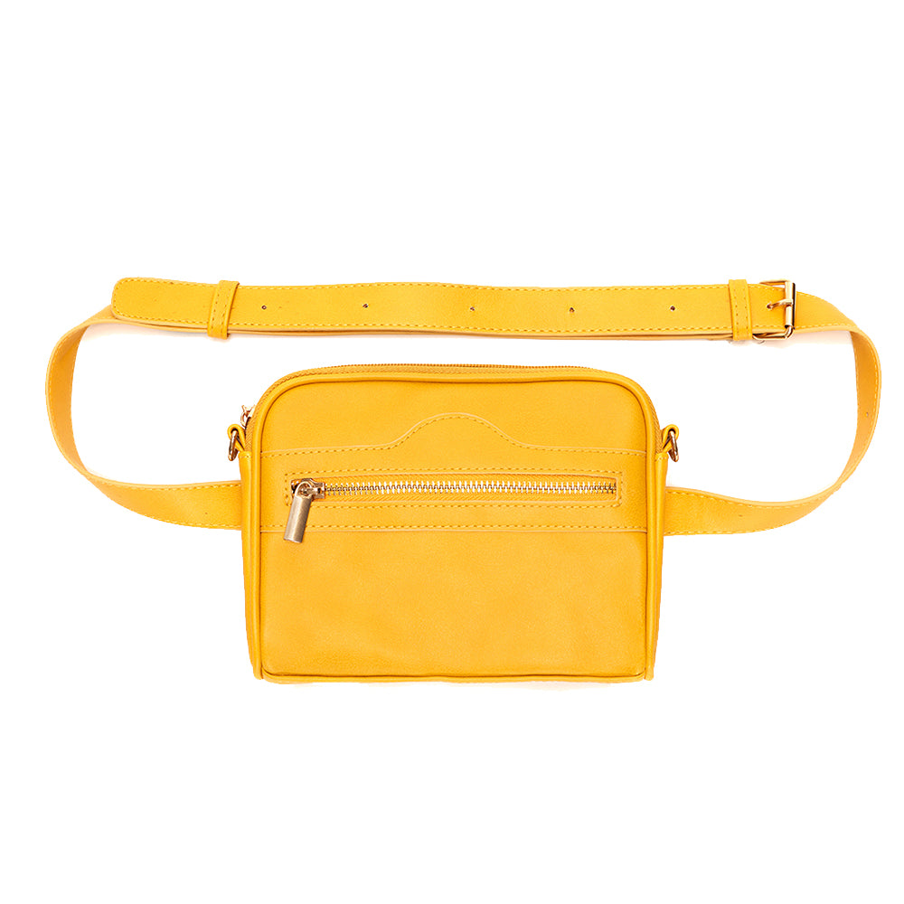 Mustard Vegan Pret-A-Porter Belt Bag