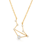 Libra Zodiac Constellation Necklace