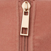 Light Pink Ultra Suede Weekender Bag