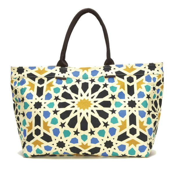 Compass Tile Tote Bag