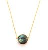 Labradorite Full Moon Necklace