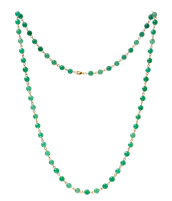 Green Aventurine Goddess Necklace