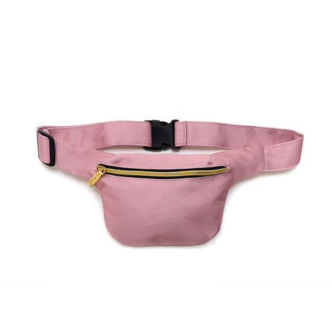 Pink Hip Pack with RFID Protection