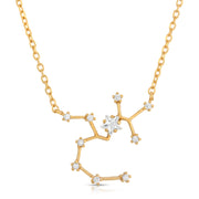 Sagittarius Zodiac Constellation Necklace