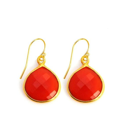 Red Onyx Inspiration Earrings