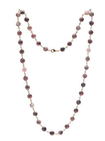 Rhodonite Kiki Necklace