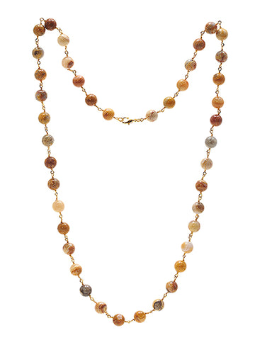 Lace Agate Kiki Necklace