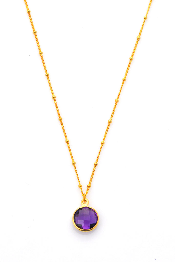 Amethyst Resolution Necklace