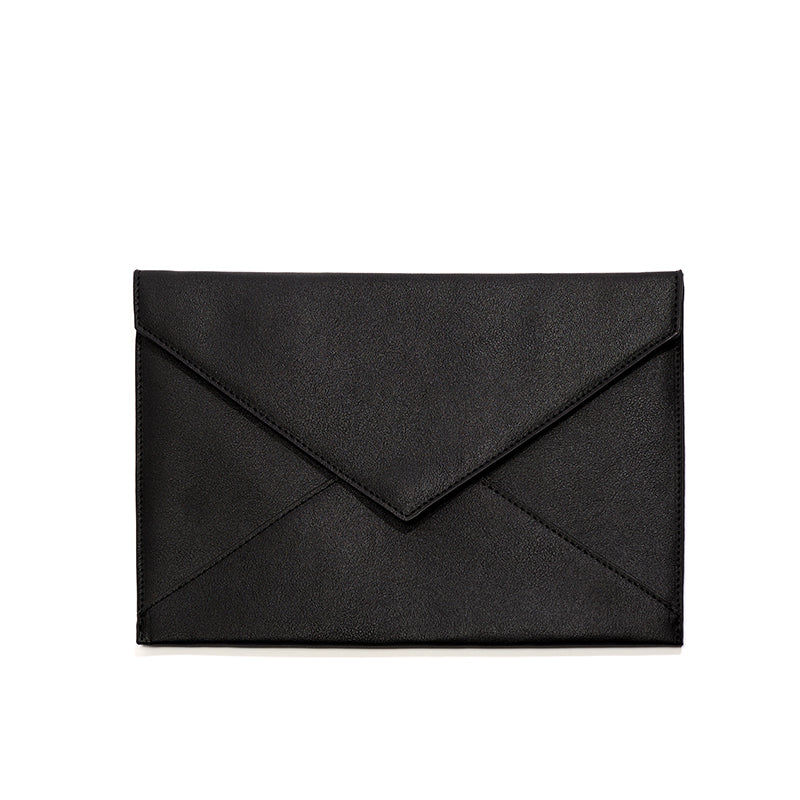 15600491c09f Black Chani Envelope Clutch – Lulu Dharma