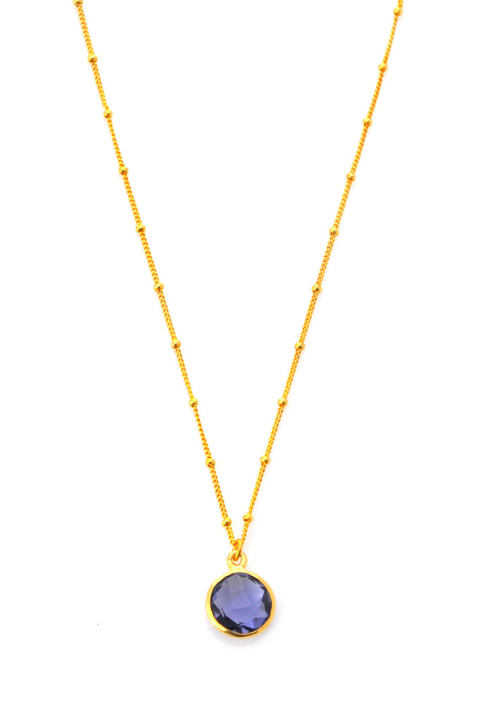 Iolite Resolution Necklace