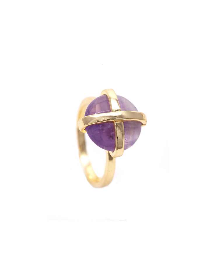 Amethyst Luck Collection Ring