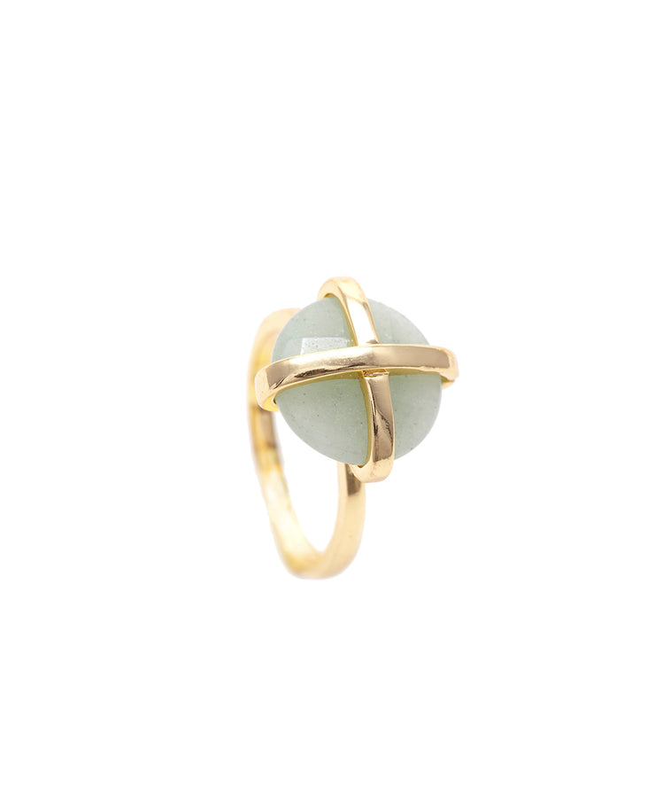 Peru Chalcedony Luck Collection Ring