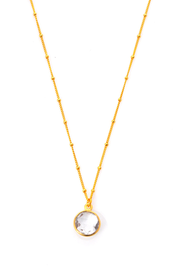 Crystal Quartz Resolution Necklace