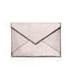 Silver Metallic Chani Envelope Clutch